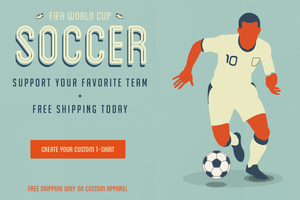 FIFA Wolrd Cup - Support your team by wordanscustomtshirts