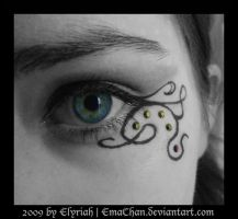 Gothic MakeUp .:09:. by Elyriah
