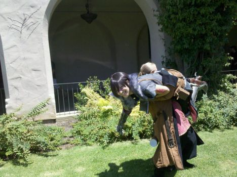 Dragon Age: Kidnapping Hawke by virusq
