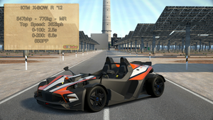 GT6 - KTM X-BOW R 12 - Stats by GT4tube