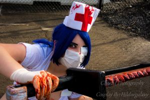 Valentine another bloody cut by Conradphotography