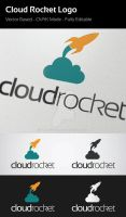 Cloud Rocket Logo by flatsguts