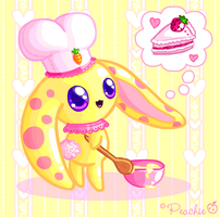 Chef Bunny-Bun by Princess-Peachie