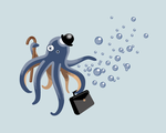 Business Octopus by Renca-W