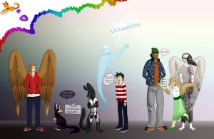 Characters by 5fox55