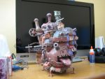 Howl's Moving Castle Papercraft by homestah