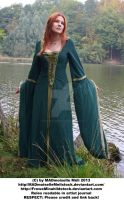 Avalon Medieval Autumn Girl Stock 002 by MADmoiselleMeliStock