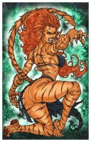 TIGRA  by  pant  color: by Mich974