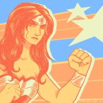 Palette #2: Wonder Woman by CatusSnake