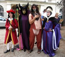 disney villains by MiracoliCosplay
