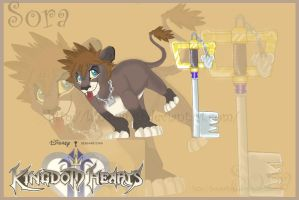 Sora lion cub by lunawings