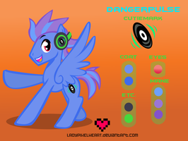 Danger Pulse Reference Sheet Commission by ladypixelheart