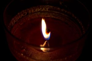 candle flame 2 by dontbemad