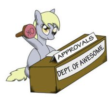 Derpy Hooves Approves by a8702131