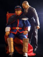 Master, you broke your chair.... by Shadaloo1989