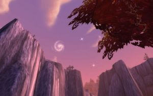 The Sky from the Ruby Dragonshire by Sencatol