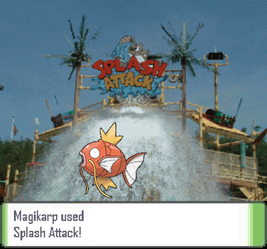 Magikarp Used Splash Attack by Failolz