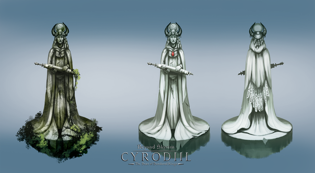 Alessia statue by 89Red