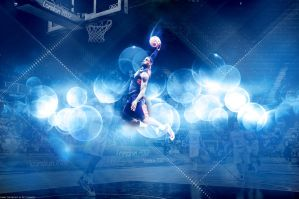 LeBron James Team USA Dunk Wallpaper by rhurst