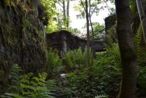 WW1 trench to the MG nest by Piipaa1