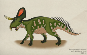 043--ZUNICERATOPS CHRISTOPHERI by Green-Mamba