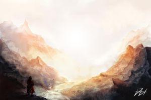 the journey by danielhannih