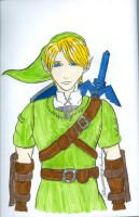 Link-A Hero of Time by DRAGONHATAKE
