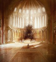 The Iron Throne - King's Landing by derekpotter
