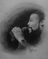 Barry white drawing by gio0989