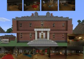Davenport Homestead: Minecraft Xbox 360 Edition by imajanaeshun