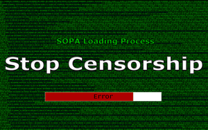 Stop Censorship Wallpaper by Mjolnir-Thunder