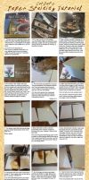 Paper Staining for the Lazy and Cheap by Cat-Bat