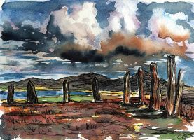Ring of Brodgar, Orkney by delph-ambi