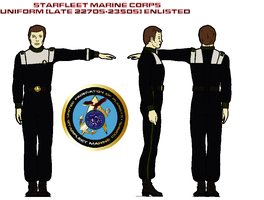 STARFLEET Marine Corps uniform (late 2270s-2350s)  by bagera3005