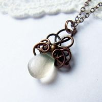 drop necklace by Lethe007