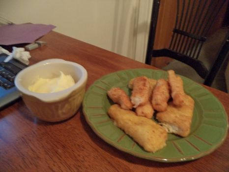 Fishfingers and Custard.... by Onemadmax