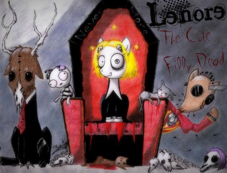 Lenore : The Cute Filly Dead by KzKsM