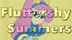 Fluttershy Summers Wallpaper by Sasami87