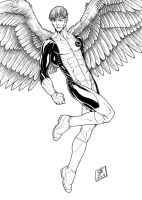Angel 2 (2012) Inks by SteveAndrew
