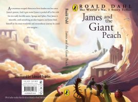 James and the Giant Peach Cover by woodystables