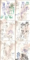 Sketches May '14  - June '14 by Frey-ofthe-Arcane