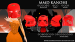 [MMD] Kanohi Hau Mask [DL AVAILABLE] by AdamMasterArt