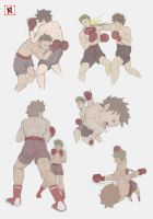 MOVEMENT PRACTICE: BOXING POSES by ULISESKUROSHIMA