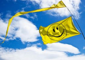 Smiley Flag by MartinIsaac