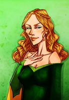 The Queen Regent by Miss-Crane
