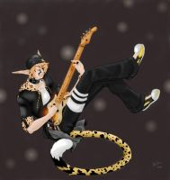Gaby Baby Bass - Band Audition by MoonlitFoxFeathers
