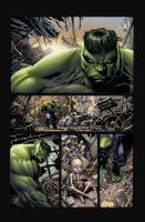Test colors Hulk the end by DAVID-OCAMPO