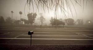 Early Morning Fog in Tucson by prologic77