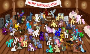 ATG Birthday Bash! by lunarapologist