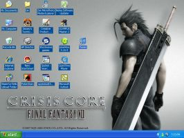 Crisis Core - Zack Wallpaper by iHeartMagster